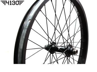 FLY Trebol Front Wheel Set [Female Type] -Flat Black-
