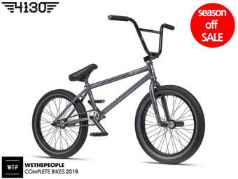 "[18만원할인] *시즌오프세일* 2016 WTP TRUST 20.5""TT BMX -GLOSSY CLEAR GREY FINISH-"